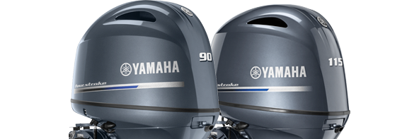 Yamaha F90 and F115 outboards