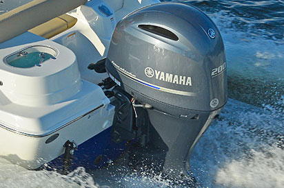 Yamaha 200 Offshore outboard