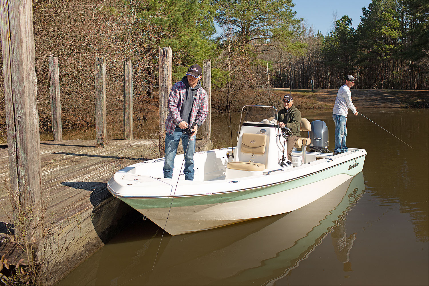 240 bay a great 24 ft fishing boat photo