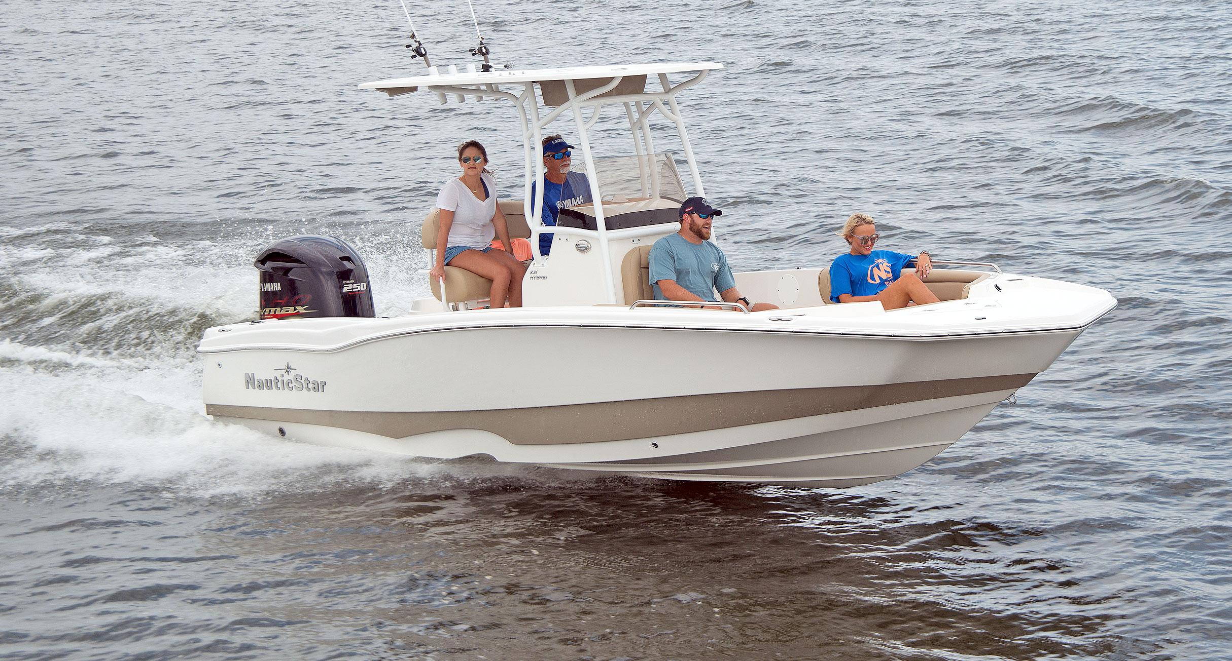 231 Hybrid | NauticStar Boats on