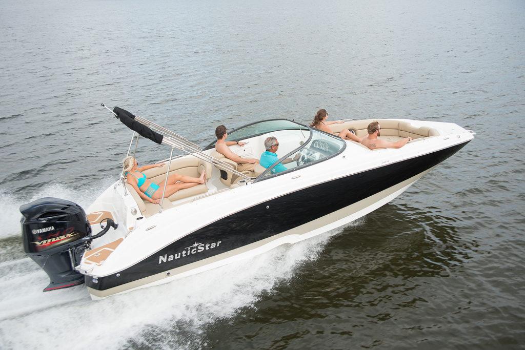 243 Dc Dual Console Deck Boat Nauticstar Boats