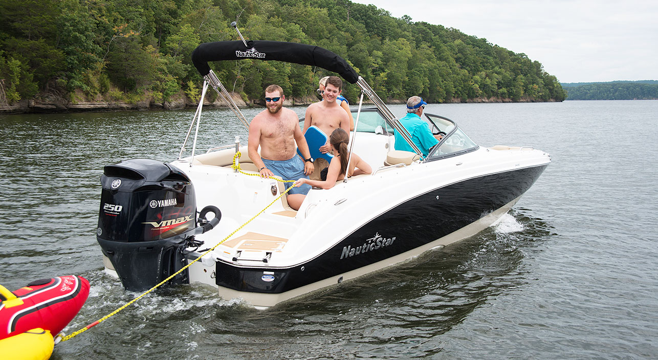 243 DC Dual Console Deck Boat | NauticStar Boats
