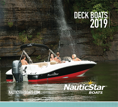 Download the 2019 Deck Boat Brochure PDF