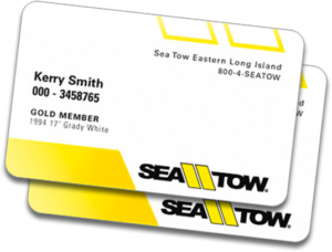 sea tow membership card