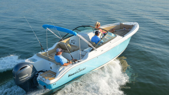 article image for NauticStar's 2302 Dual Console Offers Great Cross-over for Fishing and Recreational Boating
